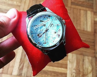 Brushstrokes watch