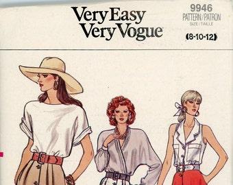 Original Vintage Vogue Sewing Pattern - 9946 ca.1987 - Uncut - Factory Folded