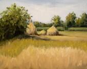 Haystacks near Mulshi, 6&...