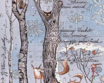 Advent Calendar Largest Snowflake