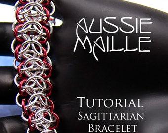 Chain Maille  Tutorial - Sagittarian Bracelet