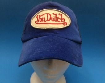 Vintage Von Dutch SnapBack Hat Adjustable 1990s