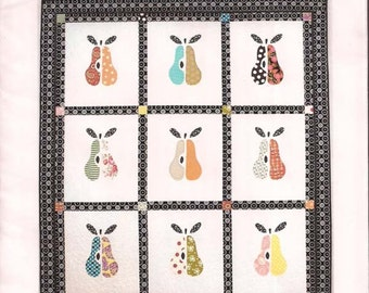 Pear-adise pattern by Pixie Girl Quilts