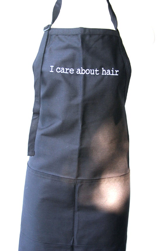 I Care About Hair (Adult Apron)