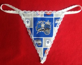 Womens ORLANDO MAGIC G-String Thong Nba Lingerie Basketball Underwear