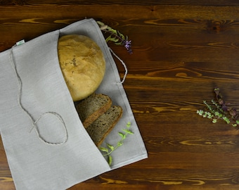 "Hemp bag for bread. Type ""A"""