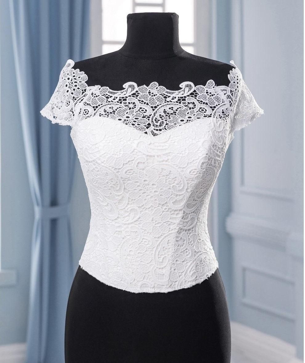 Weiß Braut Korsett Hochzeit Korsett Kleid Detail für