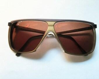 Vintage TURA Sunglasses New Wave 70s-80s, Vintage Sunglasses, Retro Sunglasses, Oversized Glasses