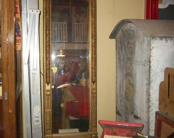 Opulent Antique French Tall  Ornate Mirror Pristine Condition