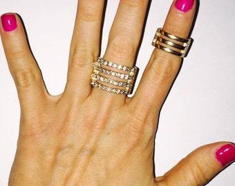 Stackable rings/midi rings