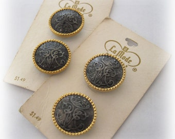 La Mode Buttons Vintage Carded from France VB-09