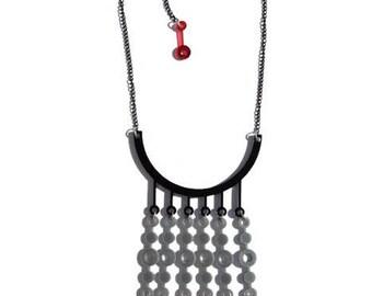 Minimalist geometric style necklace