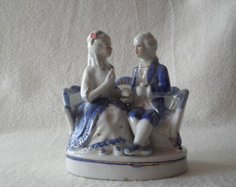 Vintage, German porcelain figure, vintage, German porcelain figurine