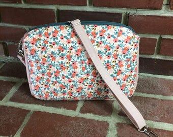 Filigree Double Zip Crossbody Bag - Customize Your Own!