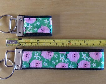 Pigs in Grass Key Fobs