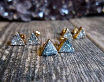 Druzy Stud Earrings,Druzy Studs,Druzy Earrings,DruzyJewelry,Druzy Earrings,Stud Earrings,Gemstone Studs,Gold Druzy Studs,Druzy,Earrings,Boho