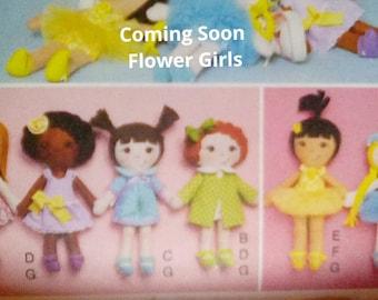 Cloth dolls, handmade dolls,
