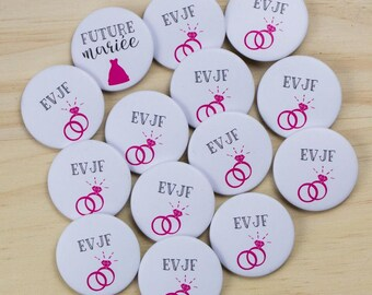 13 + 1 bride bachelorette party badges