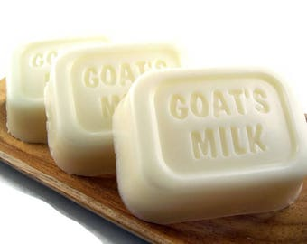 Goat Milk Soap, Natural Unscented Goatmilk Soap, Moisturizing Soap