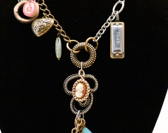 Treasure Trove with Games Necklace, N0090