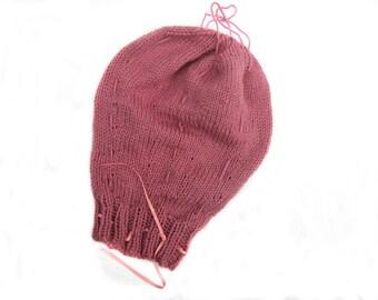 Plain Knitted Uterus with Cords, Antenatal Teaching Aid