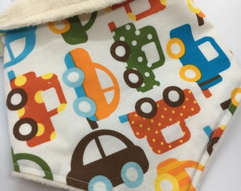 Bandana bib baby car transport dribble drool bib