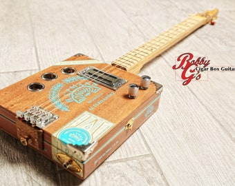 3 string cigarbox electric guitar