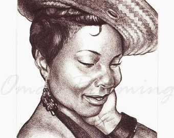 Custom Portrait Drawing, Pencil