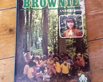 Vintage Brownie Annual 1981