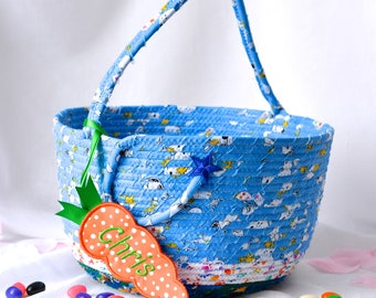 Boy Easter Basket, Handmade Easter Bucket, Boy Easter Bucket, Lego Storage, Game Toy Bucket, Stuffed Animal Bin Storage