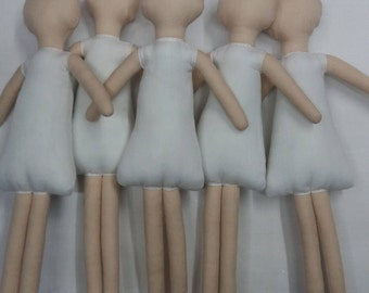 Doll's bodies 20 cm (9 inches)