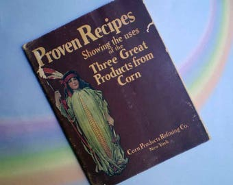 Vintage 20s Corn Products Proven Recipes Cookbook