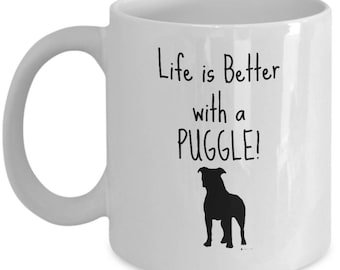 Poodle Dog Mug | Gift for Poodle Breed Owner | 11oz or 15oz Coffee Mug
