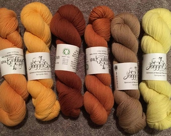 Green Line Organic Sport Weight Wool by Jaggerspun