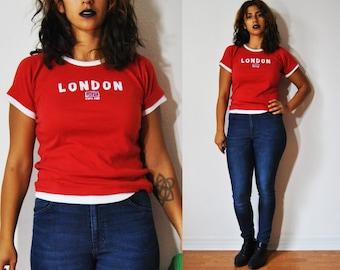 SALE 90s London Calling Tee M