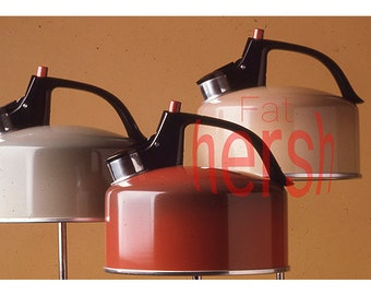 Vintage Original 1970's Advertsing Product Shot Metal Teapots  35MM  Slide Transparency Photo