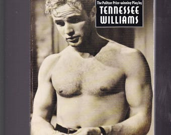 A Streetcar Named Desire by Tennessee Williams. 1974 Signet Pb in Acceptable Condition*. Screenplay. Glossy Photos Movie Tie-In.