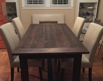 Custom Farm Dining Table