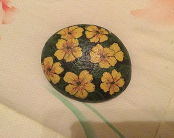 Sea Stone with flowers