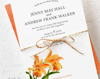 Tiger Lilly - Wedding Invitations (Style 13735)