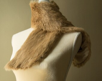 Authentic Vintage Rabbit Fur Scarf