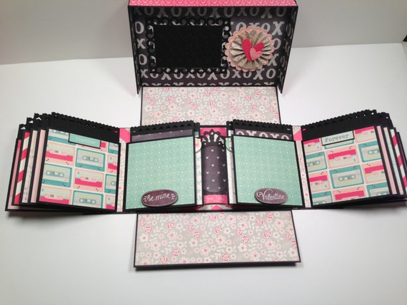 Boxed Gatefold Mini Album Pattern With Video Tutorial From