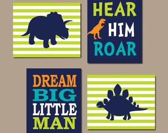 Lovely DINOSAUR Wall Art Dinosaur Decor Baby Boy Nursery Wall Art Dino Theme Big  Boy Bedroom Dream