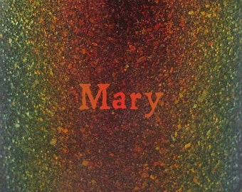 """Mary chameleon glitter and flake nail polish 15 mL (.5 oz) from the """"Just a Bunch of Hocus Pocus"""" Collection"""