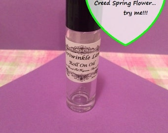 Flower perfume etsy creed spring flower type roll on perfume oil mightylinksfo
