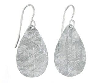 Meteorite Drop Earrings