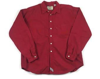 Vintage Levi Shirt (Sz XL) Levi's Button Up