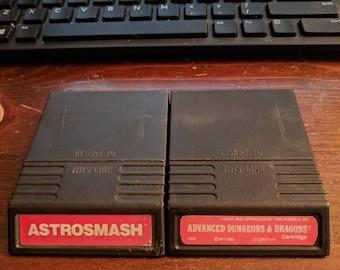 Astrosmash and Advanced Dungeons & Dragons Intelivision Bundle