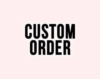 Costume Order