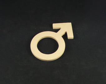 "medium ""men's initials"" shaped blank"